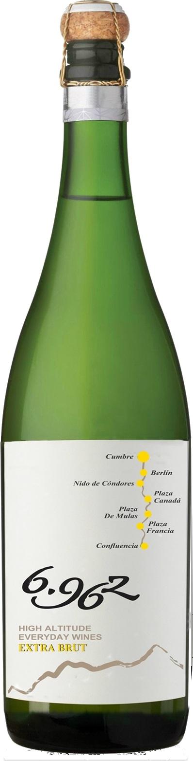 Bodega La Giostra del Vino - 6962 - Chardonnay/Torrontés - Extra Brut Caudalia Wine Box Diciembre 2017