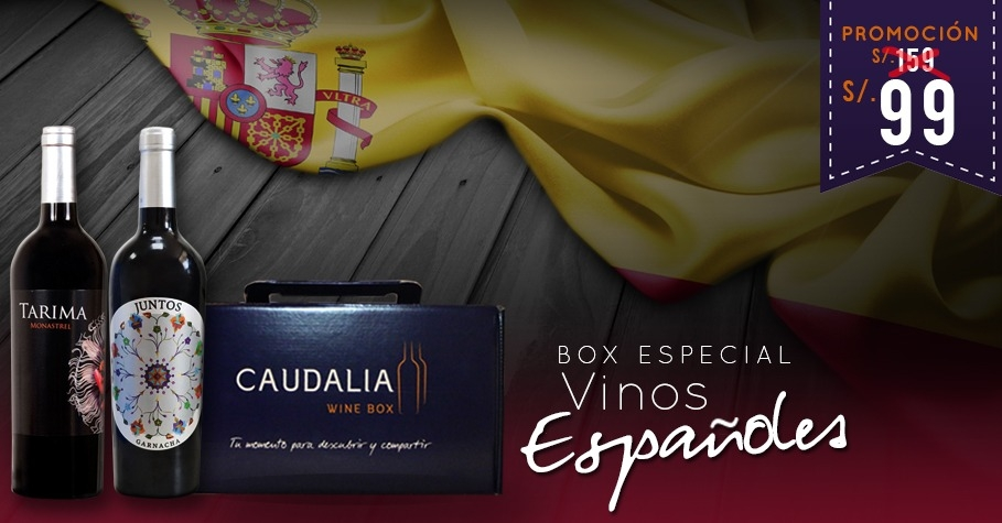 Caudalia wine box especial España