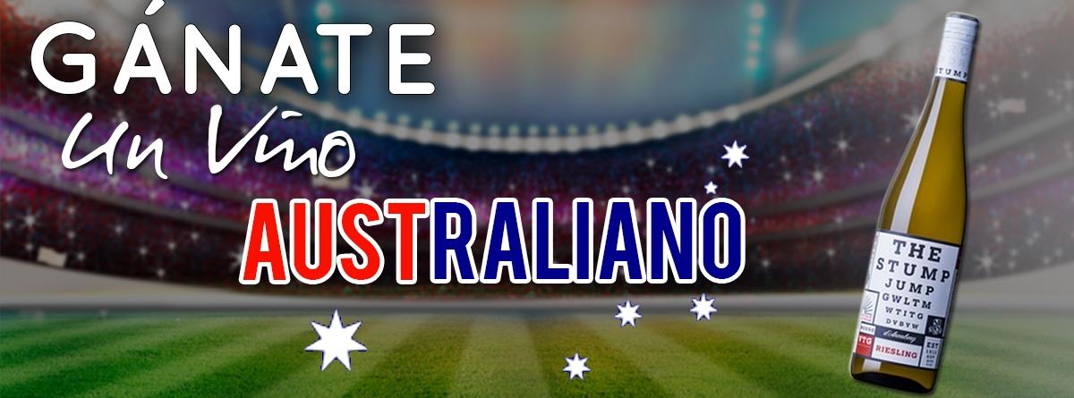 concurso australia vs Perú