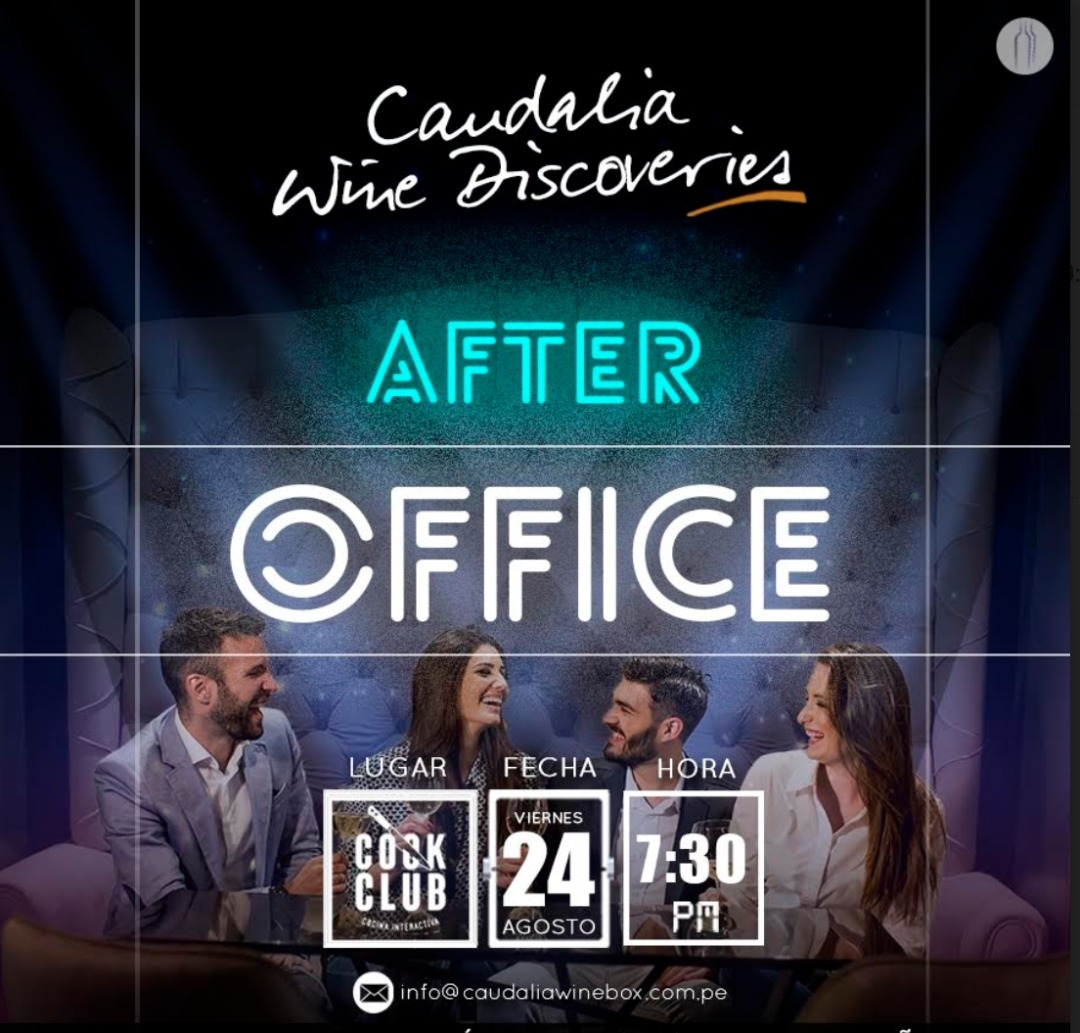 Caudalia Wine Discoveries Agosto 2018